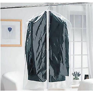 6 Clear Zip-Up Garment Bags alt image 2