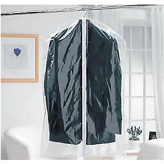 6 Clear Zip-Up Garment Bags alt image 2