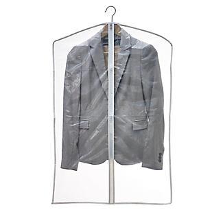 6 Clear Zip-Up Garment Bags alt image 3