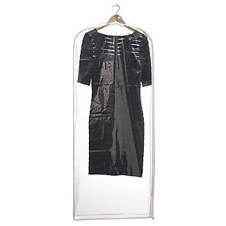 Durchsichtige Kleiderhülle für Abendkleider