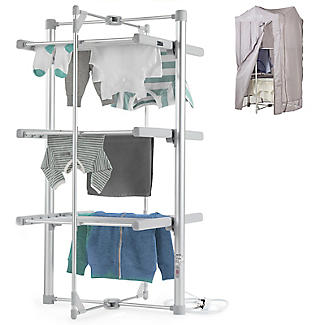 Dry:Soon 3-Tier Heated Airer and Cover Offer Bundle