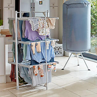Dry:Soon 3-Tier Heated Airer and Cover Offer Bundle alt image 4