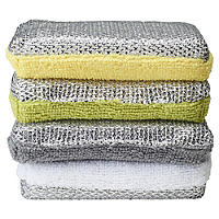 ILO 4 Dual Action Kitchen Sponges Citrus