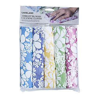 5 Spring Blooms Cleaning Cloths alt image 2