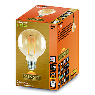 LED Filament Globe Screw-in Bulb Medium ILGLOBE27N003 alt image 2