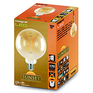 LED Filament Globe Screw-in Bulb Large alt image 2