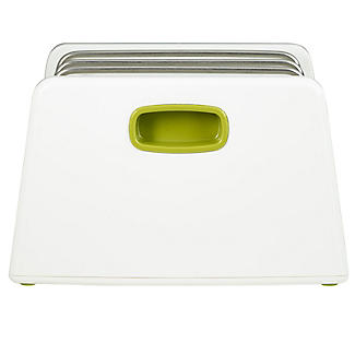 ILO Adjustable Chopping Board Storage Rack White and Green alt image 4
