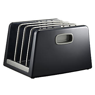 ILO Adjustable Chopping Board Storage Rack Grey alt image 6