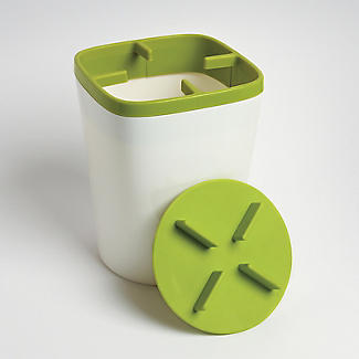 ILO Kitchen Utensil Pot White and Green alt image 4