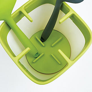 ILO Kitchen Utensil Pot White and Green alt image 6