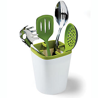ILO Kitchen Utensil Pot White and Green alt image 7