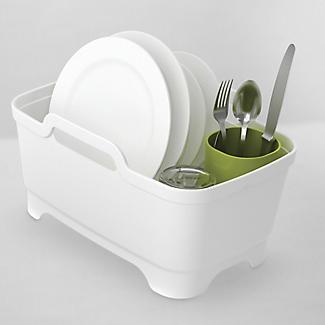 Joseph Joseph Wash & Drain Plus White and Green alt image 4