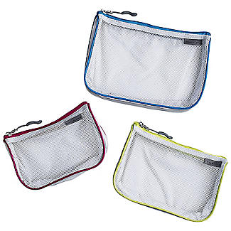 Travelon Set of 3 Assorted Mesh Travel Pouches alt image 2
