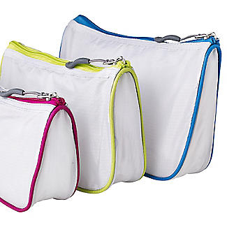 Travelon Set of 3 Assorted Mesh Travel Pouches alt image 3