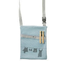 Wick-Away Peg Bag Aqua