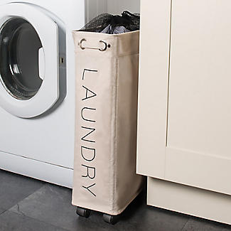Slim Wheelie Laundry Hamper alt image 2