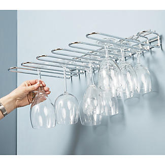 Hahn Metro 5-Row Wine Glass Holder alt image 5