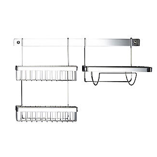 Hahn Metro Chrome 91cm Wall Rail 90091 alt image 4