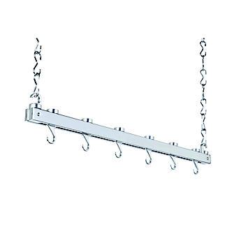 Hahn Chrome Single Bar Ceiling Rack 40219