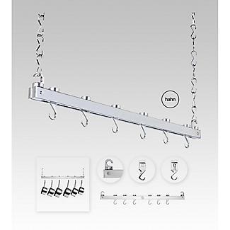 Hahn Chrome Single Bar Ceiling Rack 40219 alt image 2