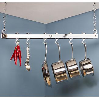 Hahn Chrome Single Bar Ceiling Rack 40219 alt image 4