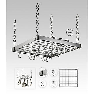 Hahn Square Chrome Ceiling Rack 40802 alt image 4