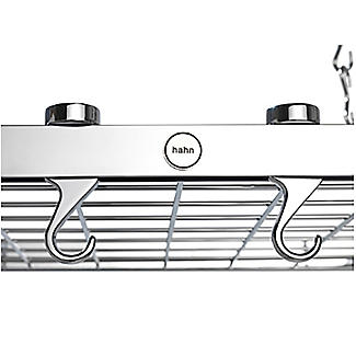 Hahn Square Chrome Ceiling Rack 40802 alt image 5
