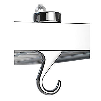 Hahn Square Chrome Ceiling Rack 40802 alt image 6