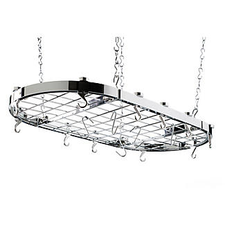 Hahn Oval Chrome Ceiling Rack 40801