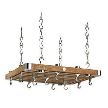 Hahn Oak Rectangular Ceiling Rack 45262