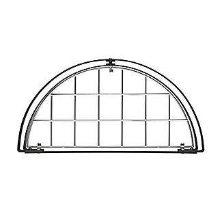 Hahn Half-Round Chrome Wall Rack 40804 alt image 3