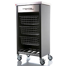 Hahn Chelsea Kitchen Trolley - Black