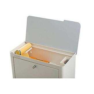 Hahn Cubek 2-Bin Recycling Unit - Warm White alt image 4