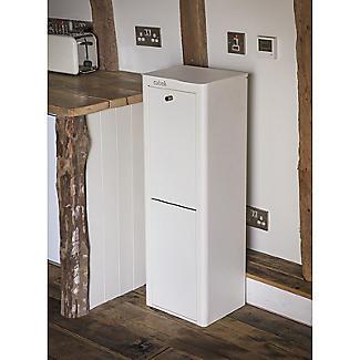 Hahn Cubek 2-Bin Recycling Unit - Warm White alt image 6