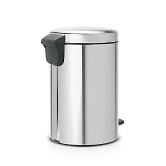 Brabantia NewIcon Pedal Bin - Matt Steel Fingerprint Proof 12L alt image 2