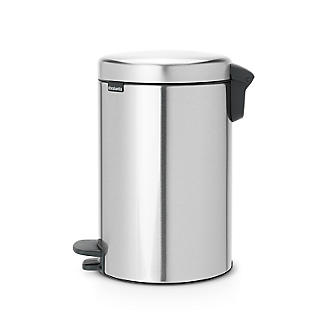 Brabantia NewIcon Pedal Bin - Matt Steel Fingerprint Proof 12L alt image 3