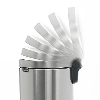 Brabantia NewIcon Pedal Bin - Matt Steel Fingerprint Proof 12L alt image 5