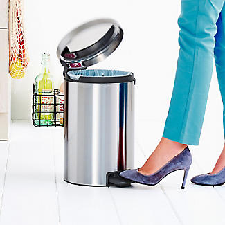 Brabantia NewIcon Pedal Bin - Matt Steel Fingerprint Proof 12L alt image 8
