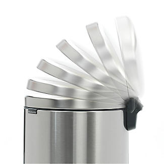 Brabantia NewIcon Pedal Bin - Matt Steel Fingerprint Proof 30L alt image 6