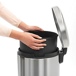 Brabantia NewIcon Pedal Bin - Matt Steel Fingerprint Proof 30L alt image 7