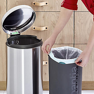 Brabantia NewIcon Pedal Bin - Matt Steel Fingerprint Proof 30L alt image 9