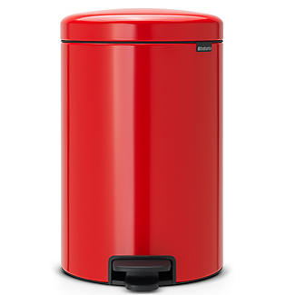 Brabantia NewIcon Pedal Bin - Passion Red 20L