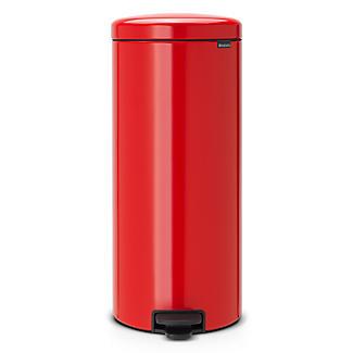 Brabantia NewIcon Pedal Bin - Passion Red 30L