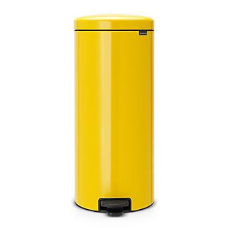 Brabantia NewIcon Pedal Bin - Sunshine Yellow 30L
