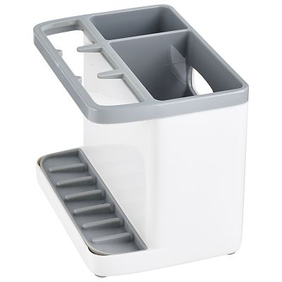 Ilo Standard Sink Tidy White And Grey Lakeland