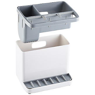 ILO Standard Sink Tidy White and Grey alt image 5