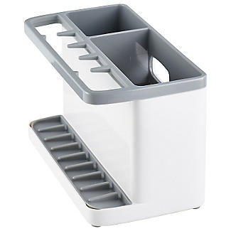 ILO Large Sink Tidy White and Grey
