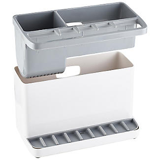 ILO Large Sink Tidy White and Grey alt image 4