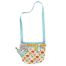 Hedgehog Peg Bag