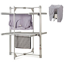 Dry:Soon 2-Tier Heated Airer and Cover Offer Bundle